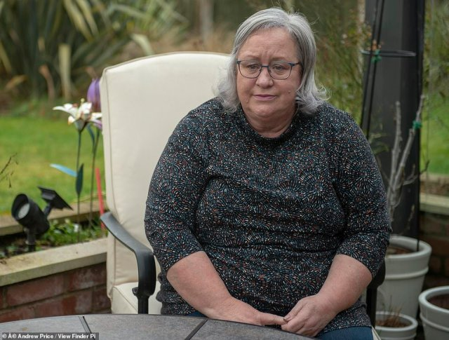 Her action has gained her wide-spread support, with her husband Stuart Weaver, 69 - a retired design engineer - telling MailOnline that he's 'proud' of his wife for standing up to them. Pictured: Jackie