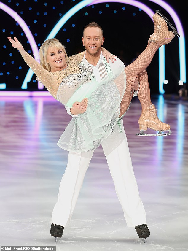 In 2018, Cheryl appeared in Dancing On Ice with Dan Whiston (together, above) and fractured a bone. He has since offered to help out with her financial predicament. Meanwhile, radio presenter Mark Curry has messaged her - and fans in Australia have suggested a whip round for their beleaguered heroine