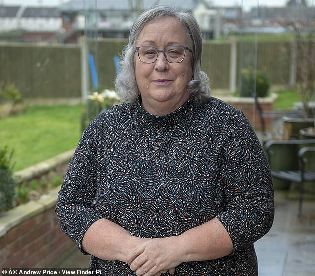 Acting-clerk Jackie (pictured) kicked out council chairman Brian Tolver after he told her she has 'no authority at all' and ordered her to to 'stop talking'