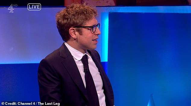Josh Widdecombe could not help laughing when Jackie said she was clueless about Twitter and had to be told what trending meant