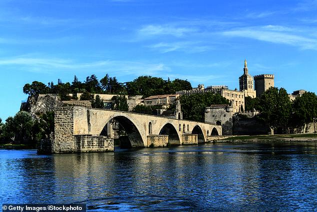 The famous bridge at historic Avignon on the Rhone