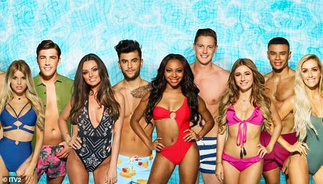 Missed:The popular ITV2 show, hosted by Laura Whitmore, has not aired since February 2020 after being postponed due to the coronavirus pandemic (pictured the 2018 cast)