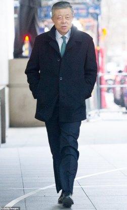 O embaixador da China na Grã-Bretanha, Liu Xiaoming, recentemente se despediu deste país em estilo característico