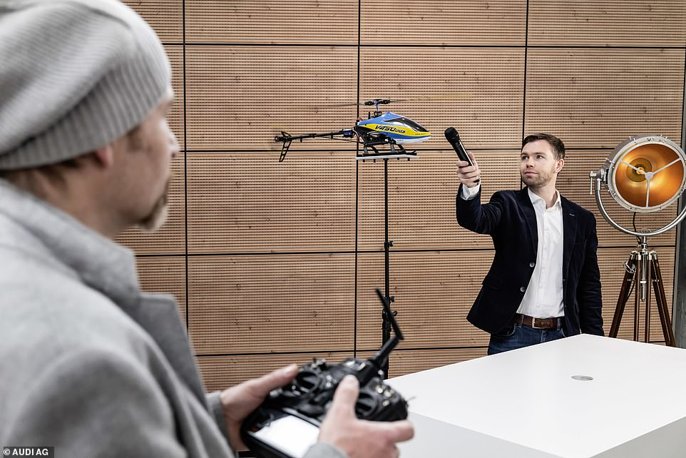 Audi has created a package of synthesised sounds for it to help enhance the driving experience. Sound engineers have used everything from electric drills and guitars to flying model helicopter drones and elongated tubes to create the GT's soundtrack
