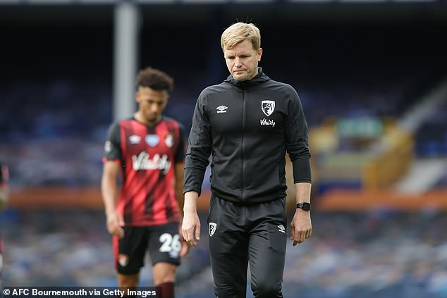 Former Bournemouth boss Eddie Howe is said to have his admirers in the Palace boardroom