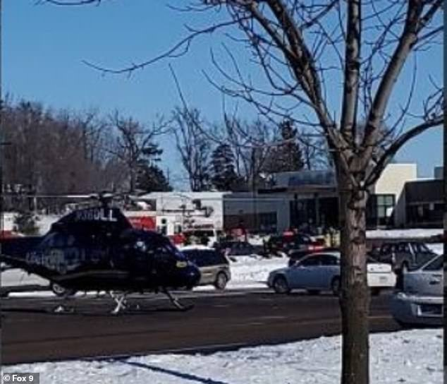 At least 5 people wounded after a gunman opened fire and detonated four homemade bombs at the urgent care clinic in Buffalo