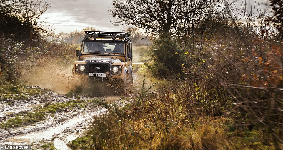 To help kick-start the new limited edition Trophy launch, racing and stunt driver Jessica Hawkins, who is also a Land Rover ambassador stars alongside 1989 Camel Trophy winner Bob Ives