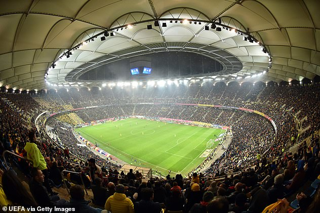 The Arena Nationala in Bucharest has been chosen as the alternative venue for the last-16 tie
