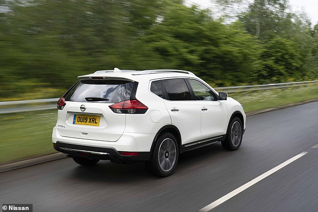 Nissan's X-Trail has contributed to the remaining 7% of sales alongside the more popular Qashqai and Juke