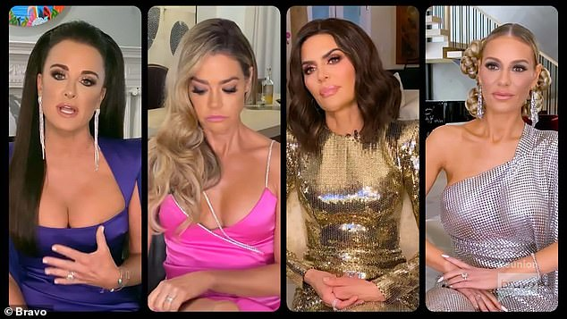The cast of The Real Housewives of Beverly Hills