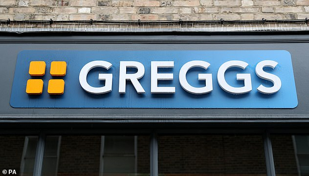 And it wasn't all the finer things in life - he also used the footballer's money to trreat himself to food from Greggs