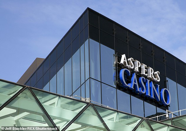 He also used the card to fund gambling at Aspers Casino in London's Westfield Stratford City
