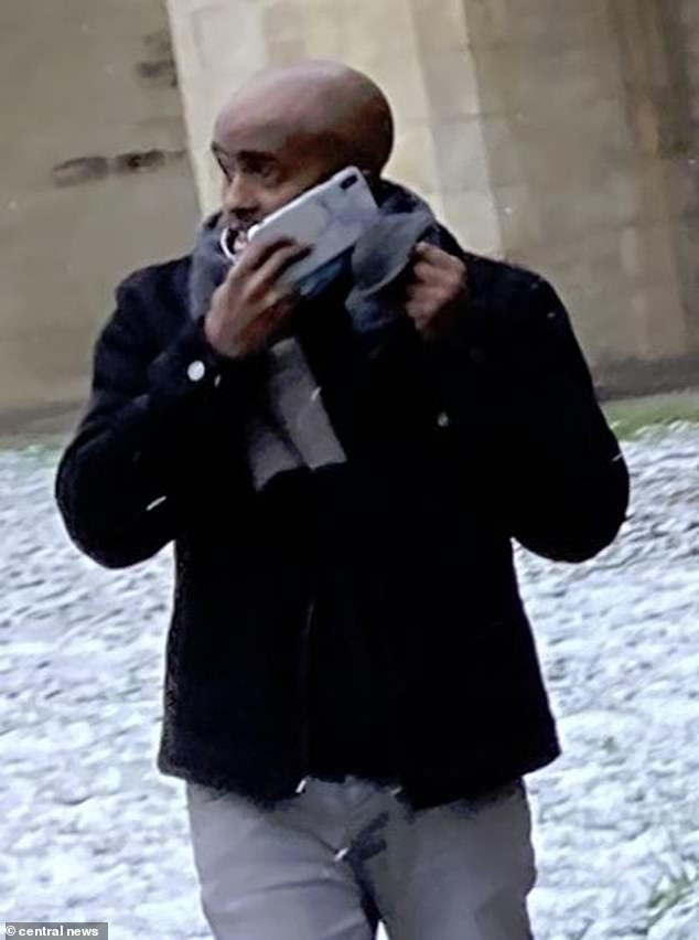It took Premier League football star Riyad Mahrez five weeks to realise the money had been taken and block the card which truck driver Sharif Mohamed (pictured), 32, had defrauded in 2017