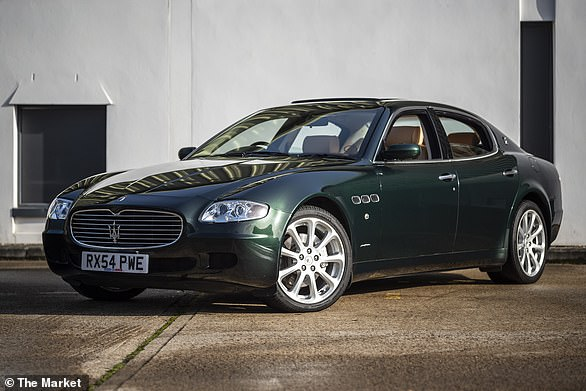 This 2005 Maserati Quattroporte was first owned b Sir Elton John. It will be sold in an online auction later this month