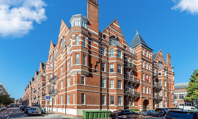 Allsop is marketing the long leasehold on a fourth-floor flat in this mansion block in West Kensington. It will be up for sale with a guide price of £715,000 on 18 February