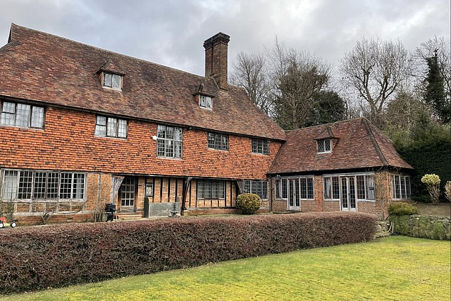 This six-bed home in Coulsdon, Surrey has extensive grounds and joins on to Chipstead Golf Club. It is listed for sale at Allsop's auction on 18 February, guided at £1.75 million.