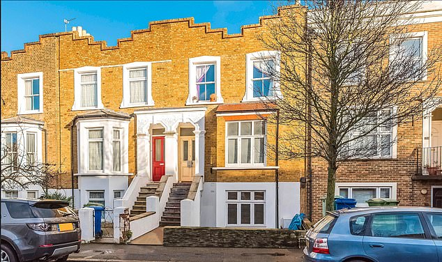 A lower ground floor flat in this property in Peckham, South London is up for sale at Allsop's next auction on 18 February. It is currently rented out and is for sale for £375,000 plus.