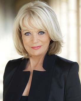 You will be joined by Sherrie Hewson