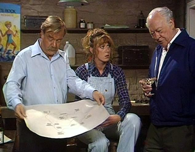 The TV watchdog is investigating a repeat showing of a 1970s programme 'Rogue's Rock' (pictured), afterTalking Pictures TV aired a repeat episode with a character in blackface