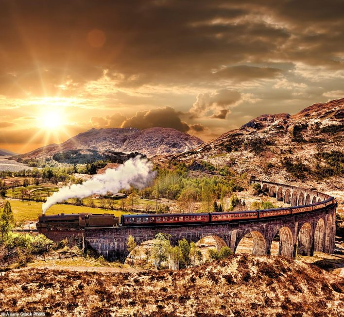 High point in the highlands: One solos holiday takes in the incredible 21-arch Glenfinnan Viaducton the West Highland Line