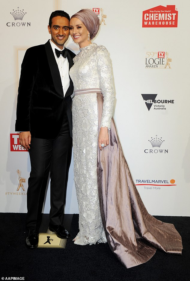 Exciting times: The awards ceremony will take place on Sunday, November 28, at The Star Gold Coast and will be televised on Channel 9 and 9Now Pictured: Waleed Aly and his wife Susan Carland at the 2017 ceremony, held in Melbourne