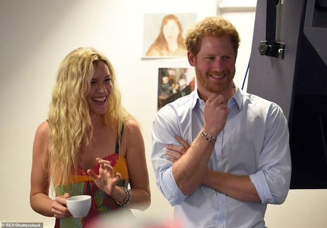 Royal pals! As well as her music career, Joss is also close friends to Prince Harry and attended his royal wedding to Meghan Markle in 2018 (pictured in 2016)