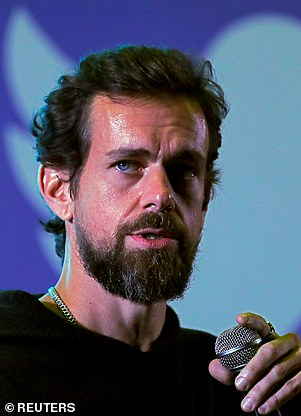 Twitter (pictured, CEO Jack Dorsey), like Facebook, will continue to strengthen internal social media abuse policing