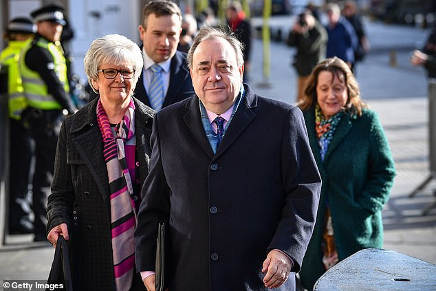 The accuser, who cannot be named for legal reasons, was one of the women who gave evidence during Alex Salmond's criminal trial at the High Court in Edinburgh in March 2020