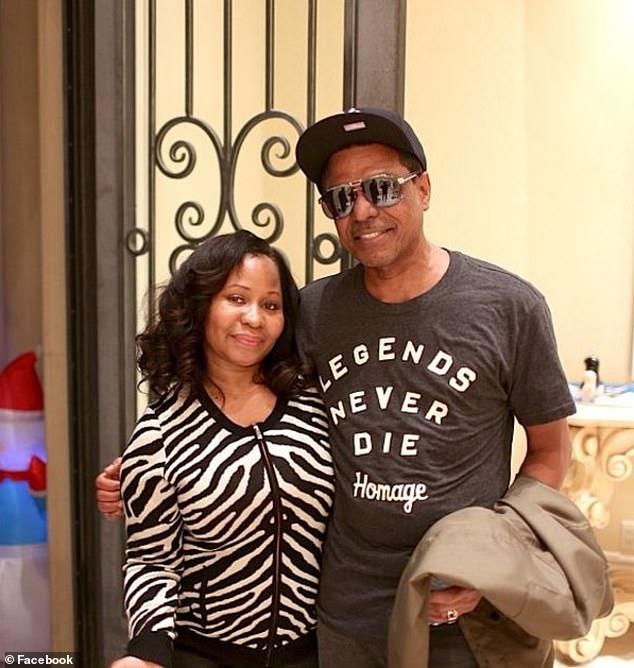 Le père de Minaj, Robert, et sa mère Carol sont photographiés ensemble en 2013