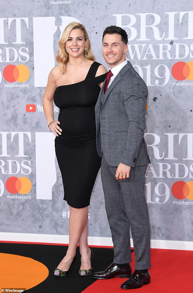 Yay:Gorka Marquez and Gemma Atkinson have announced their engagement (pictured 2019)