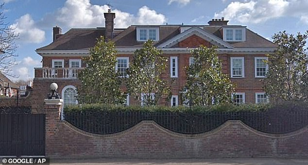 Home:According to The Sun , the music mogul, 61, has moved to secure a 'blind spot' back entrance to the home, with planning permission granted last month to carry out the security measures