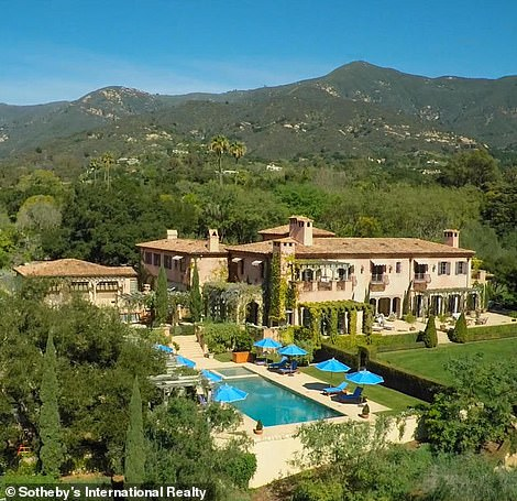 The Duke and Duchess of Sussex have moved to California, where they have bought an £11million mansion in Montecito