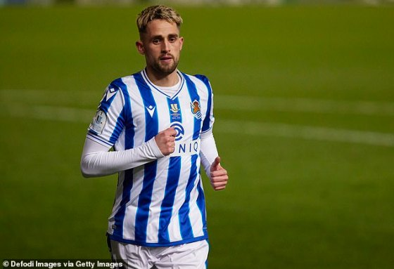 The Real Sociedad winger can think about all this as he prepares for his first meeting with United