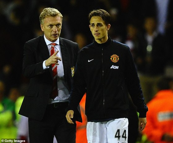 Januzaj's breakthrough came under the leadership of David Moyes, who rewarded him with minutes throughout the season