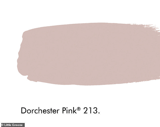 Pictured: Dorcester Pink by Little Greene is a good accent colour for a garden shed