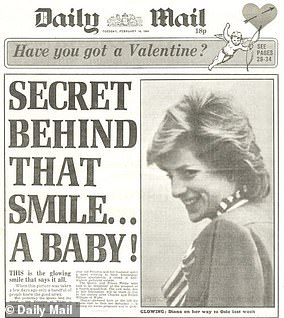 News of their second pregnancy came on the 37th anniversary of when Harry's mother, Princess Diana, announced that she was pregnant with him