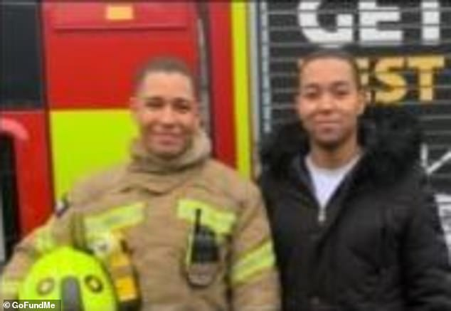 Mr Francois-Esprit (pictured left with his brother Kairo)had made 16 transfer requests to four different stations in London between February and August 2020, an inquest heard