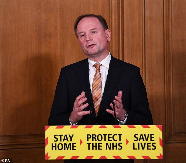 NHS England boss Sir Simon Stevens yesterday vowed to double the number of jabs being given to one million vaccines a day in order for the Government to hit that target