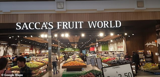 A Covid-infected customer attended Sacca's Fruit World at Broadmeadows Central in Melbourne's north between 12.30pm and 1pm on Tuesday February 9