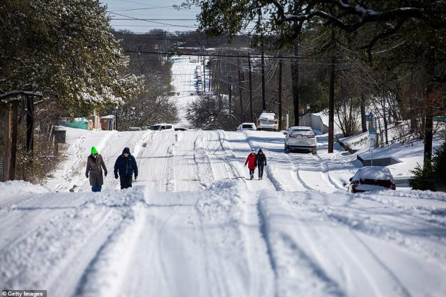 TEXAS:State officials said surging demand, driven by people trying to keep their homes warm, and cold weather knocking some power stations offline had pushed Texas' system beyond the limits