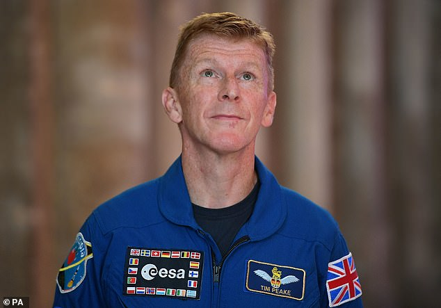 British astronaut Tim Peake is helping with the latest recruitment drive and will likely be going back to the International Space Station in the coming years