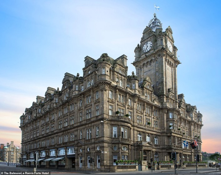 Scotland claims its first five-star win with The Balmoral, a Rocco Forte Hotel, in Edinburgh