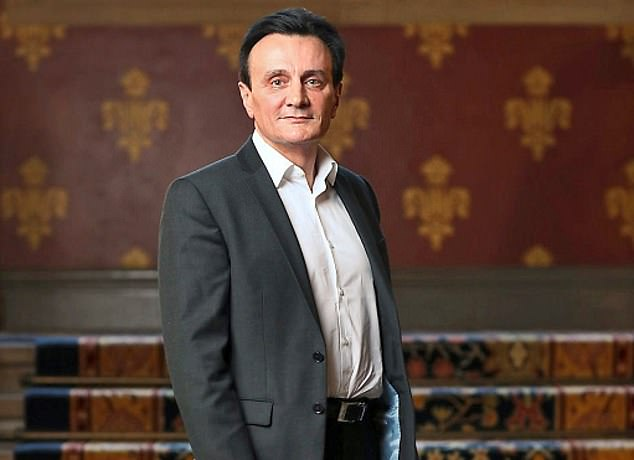 Payday: Astrazenecachief executive Pascal Soriot's 2020 package, his biggest yet, is up from £15.3million the previous year