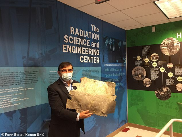 Scientists at Penn State University are analyzing a metal patch found on a small Pacific Island in 1991 to determine if the piece belonged to Earhart's Lockheed Model 10-E Electra plane ¿ and they are using a nuclear reactor to do so