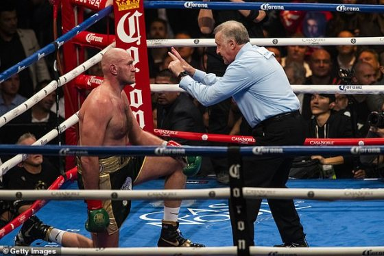 Wilder argued that Judge Jack Reiss went against the rules not counting Fury