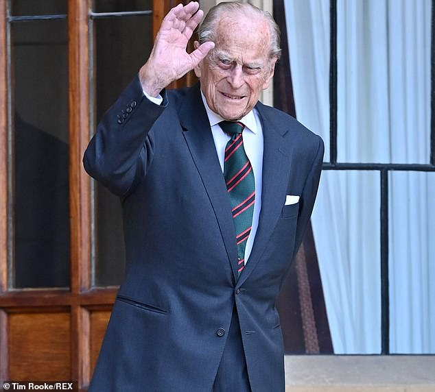 Prince Philip, 99, was taken to the King Edward VII Hospital in London as a 'precautionary measure' and will remain there for a few days (pictured in July 2020)