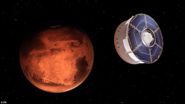NASA¿s Perseverance rover is set to land on Mars Thursday (concept image) to search for signs of life and although the mission has been years in the making, the Red Planet has been part of our culture for thousands of years