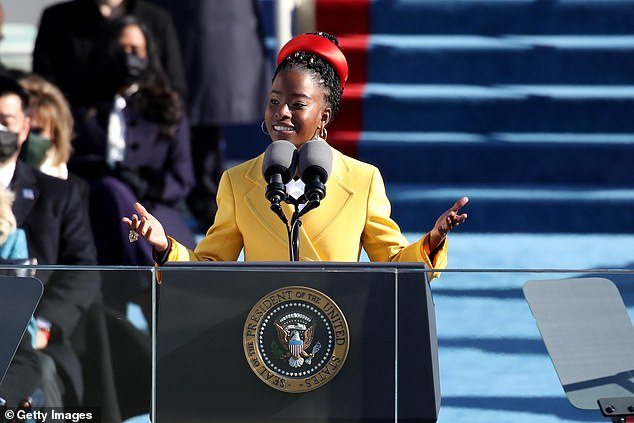 TIME magazine has unveiled its 2021 Next List, celebrating '100 emerging leaders who are shaping the future'. Amanda Gorman, the 22-year-old poet who spoke at Joe Biden's inuaguration last month, was included on the list