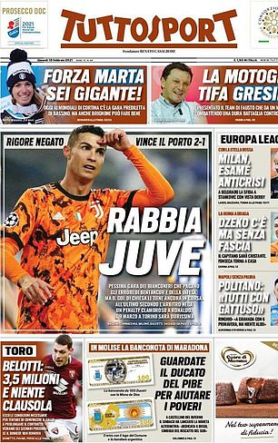 Image result for Juve slammed for 'awful' performance by the Italian media as Ronaldo & Co flop