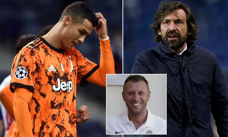 Cristiano Ronaldo is SELFISH and struggling to adapt to Andrea Pirlo's ideas, claims Antonio Cassano | Daily Mail Online